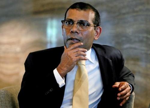 Cựu tổng thống Maldives Mohamed Nasheed. Ảnh: Reuters.