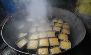 Người dân Quảng Nam làm bánh tổ trong dịp Tết
