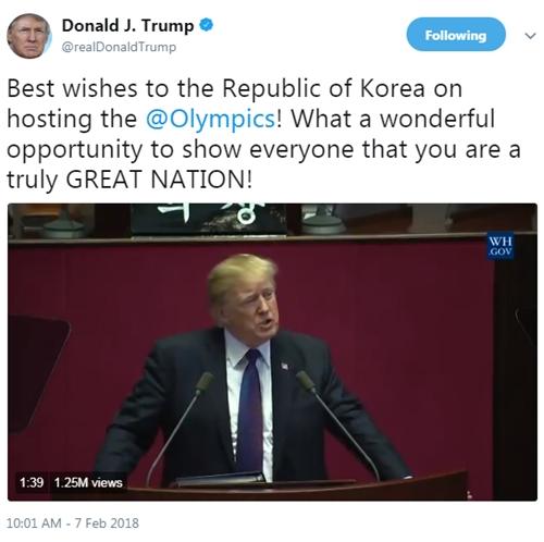 Trump gọi Hàn Quốc là quốc gia tuyệt vời