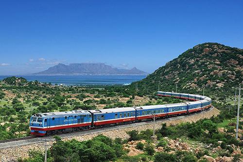 Trong quy hoạch giao thông có tuyến đường sắt xuyên Á. Ảnh minh họa: Xuân Hoa