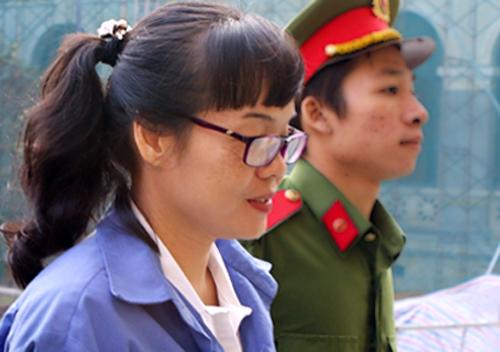 Huyền Như bị đề nghị án tù chung thân. Ảnh: Hải Duyên.