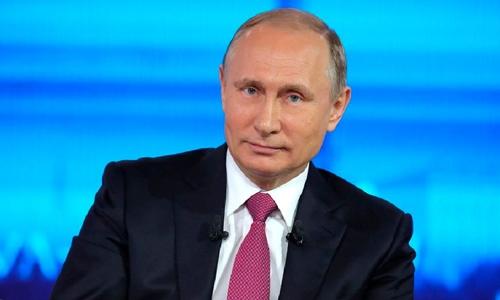 Tổng thống Nga Putin. Ảnh: Sputnik.