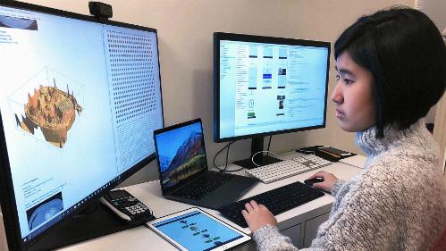 Đam mê lập trình giúp Emma Yang tạo ra sự khác biệt. Ảnh: Emma Yang