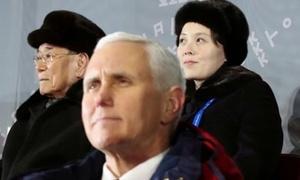 Sứ mệnh đối trọng với Triều Tiên của Phó tổng thống Mỹ ở Olympic