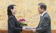 Em gái Kim Jong-un mong thắt chặt quan hệ với Hàn Quốc