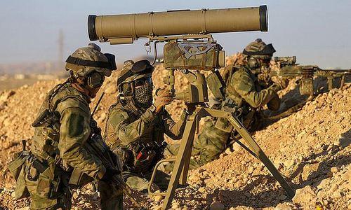 Lực lượng đặc nhiệm Nga tại Syria.Ảnh:KP.ru.