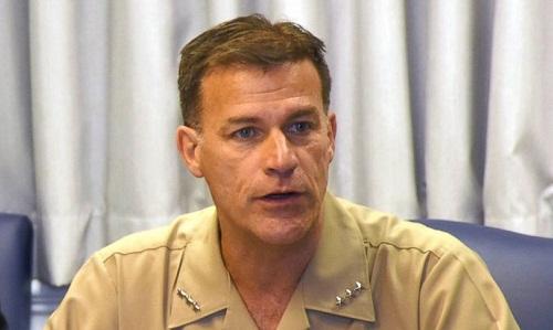 Phó Đô đốc John Aquilino. Ảnh: ABC News.