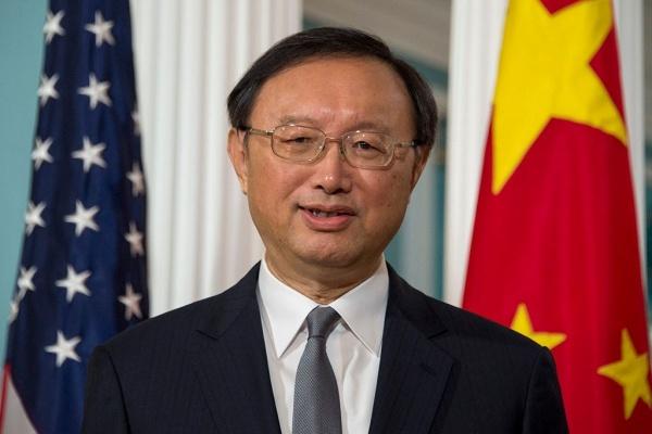 Uỷ viên Quốc vụ Trung Quốc Dương Khiết Trì. Ảnh: AFP.