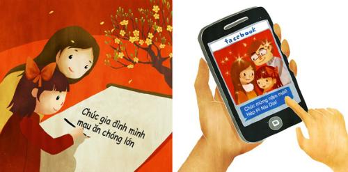 4 kiểu khai bút đầu xuân của học trò Việt