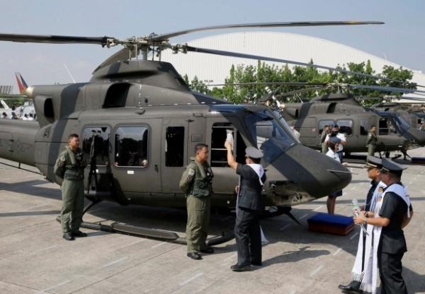 Trực thăng Bell 412EPI. Ảnh: AP.