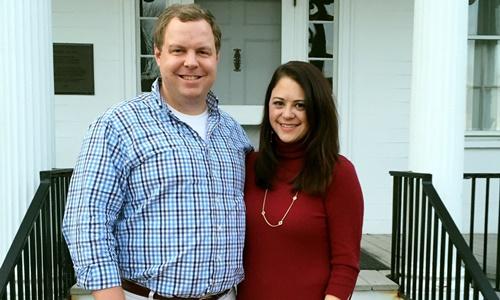 David Sorensen và Jessica Corbett hồi năm 2015. Ảnh: Washington Post.