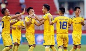 Tampines Rovers 0-2 Sông Lam Nghệ An