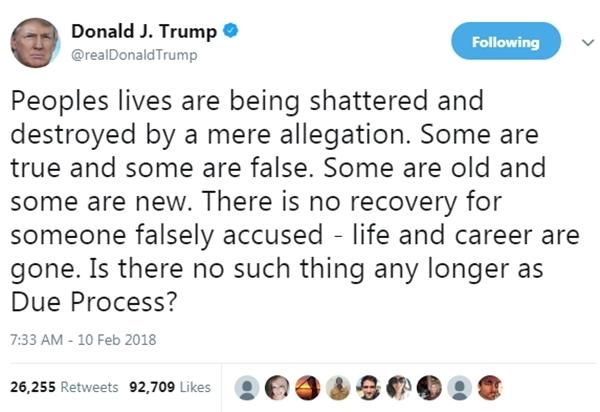 Bài đăng trên Twitter của Tổng thống Mỹ Donald Trump. Ảnh: Twitter/@realDonaldTrump.
