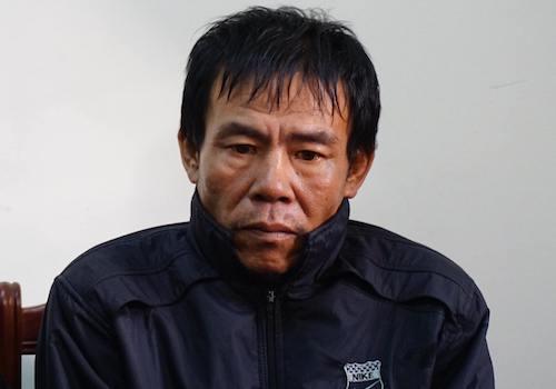 Hồ Văn Hiến lúc bị di lý về Nghệ An.