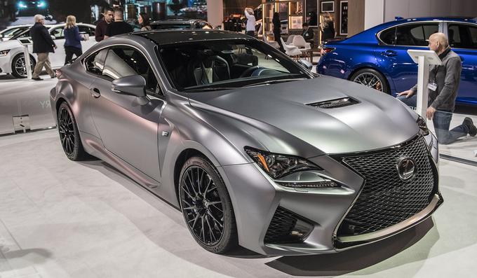 Bộ đôi sedan Lexus RC-F và GS-F hàng độc tại Mỹ