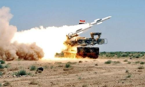 Một hệ thống tên lửa phòng không của quân đội Syria. Ảnh: South Front.