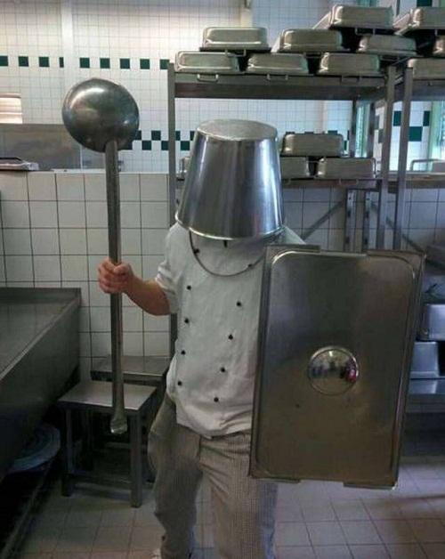 Vũ khí của đầu bếp.