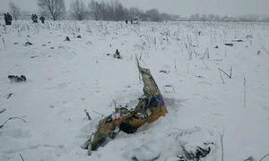Putin hoãn tới Sochi để giám sát điều tra máy bay rơi