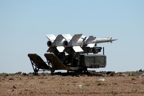 Tổ hợp S-125 Pechora của phòng không Syria. Ảnh: Southfront.