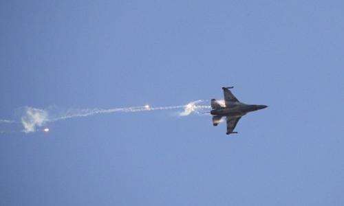 Chiến đấu cơ F-16 của Israel. Ảnh:Reuters.
