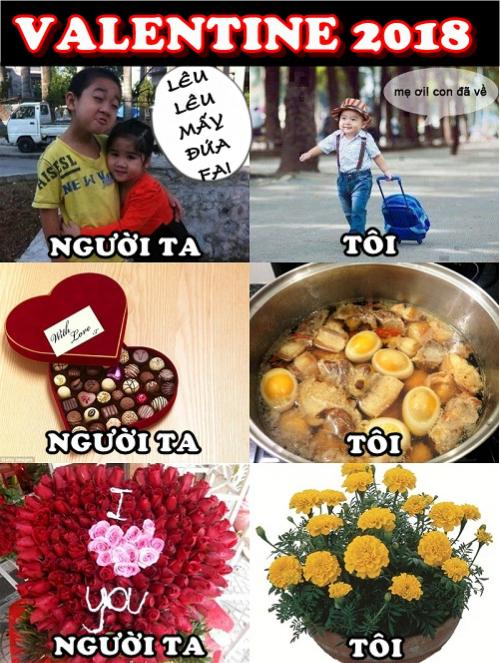 Valentine trong trái tim tôi.