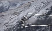 Tiêm kích F-15 thể hiện khả năng cơ động khi bay thấp