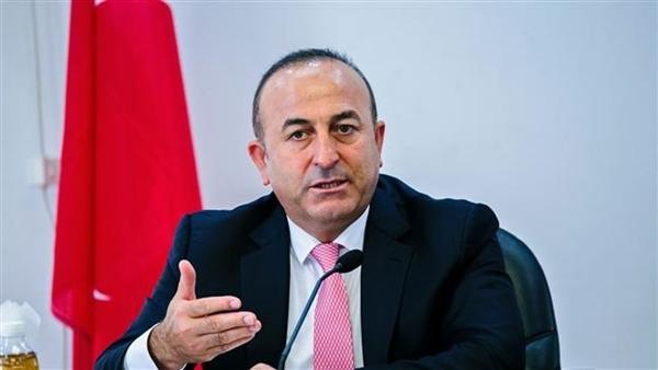 Ngoại trưởng Thổ Nhĩ Kỳ Mevlut Cavusoglu. Ảnh: AFP.