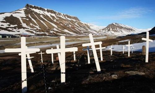 Nơi thi thể không phân hủy do quá lạnh ở Na Uy