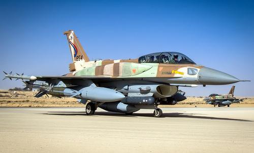 Tiêm kích F-16I của không quân Israel. Ảnh: IAF.