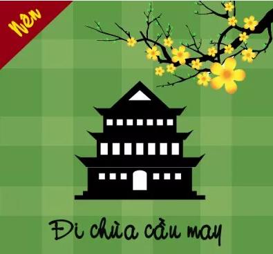 Đi chùa cầu may cũng là cách nhiều bạn học sinh làm.
