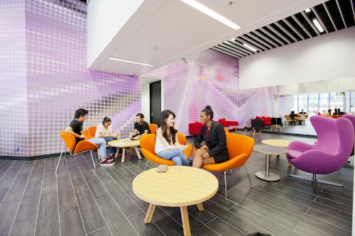 Cơ sở vật chất hiện đại tại Đại học công nghệ Sydney.