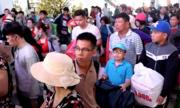 Ga Sài Gòn đông nghịt người về quê đón Tết
