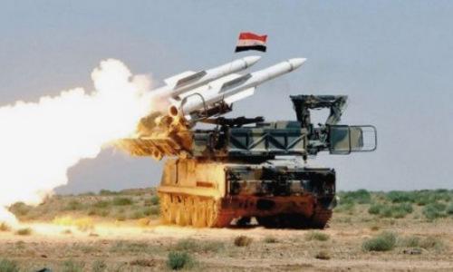 Hệ thống tên lửa phòng không 2K12 Kub của quân đội Syria. Ảnh: South Front.