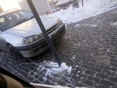 Biện pháp chống trộm ôtô cực chất.