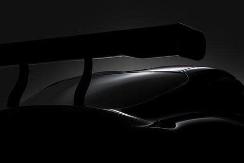 Ảnh teaser đầu tiên của Toyota Supra. Ảnh: Carscoops.