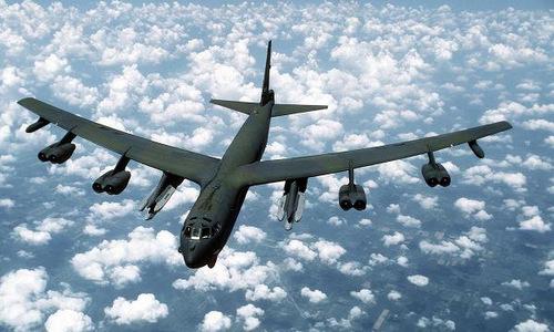 Một chiếc B-52 của không quân Mỹ. Ảnh: Military.