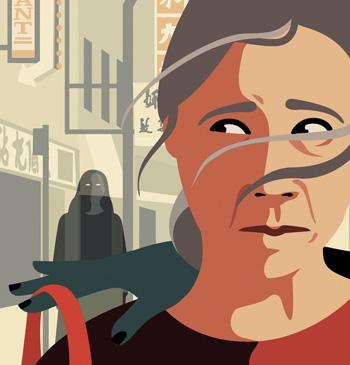 Bà Wang Jing bị một nhóm phụ nữ đồng hương người Trung Quốc lừa toàn bộ số tiền của dành dụm suốt 30 năm. Ảnh minh họa: New York Times.