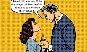 Hôn nhân giúp chồng trở nên lương thiện