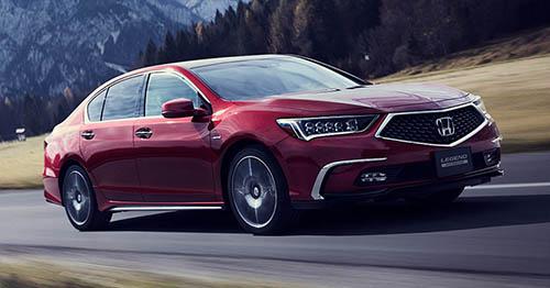 Honda Legend 2018 - đối thủ xứng tầm của Toyota Crown