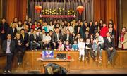 Du học sinh Việt gói bánh chưng, thi áo dài đón Tết ở Mỹ