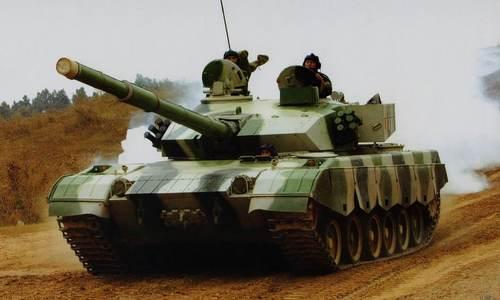 Xe tăng chiến đấu chủ lực Type-99. Ảnh: Sina.