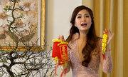 Á hậu Diễm Trang dọn nhà, sửa soạn mâm cơm cuối năm