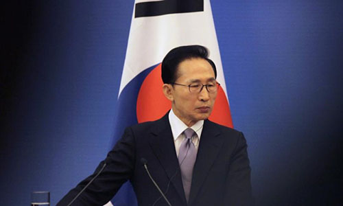 Cựu tổng thống Hàn Quốc Lee Myung-bak. Ảnh: IBT.