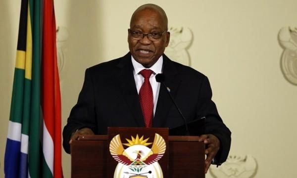 Tổng thống Nam Phi Jacob Zuma. Ảnh: AFP.