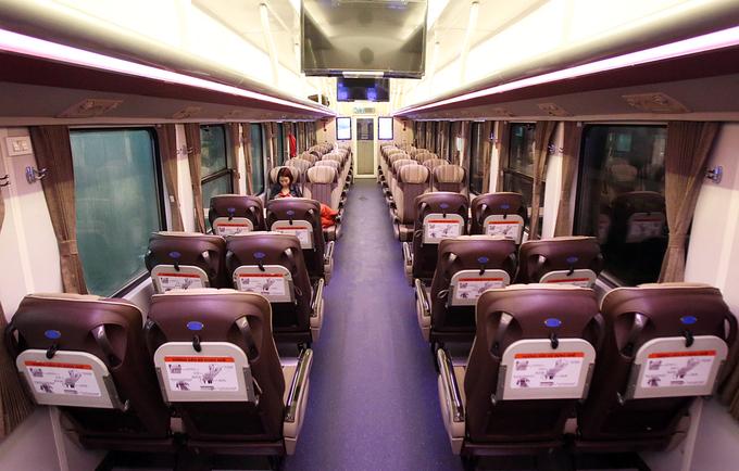 Chuyến tàu cuối năm rời ga Hà Nội