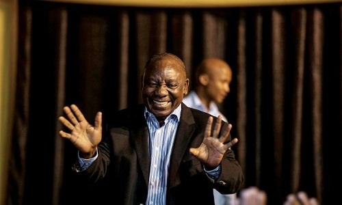 Tân Tổng thống Nam PhiCyril Ramaphosa. Ảnh: AFP.