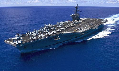 Chuẩn đô đốc Mỹ: Hiện diện của Washington ở Biển Đông rất rõ