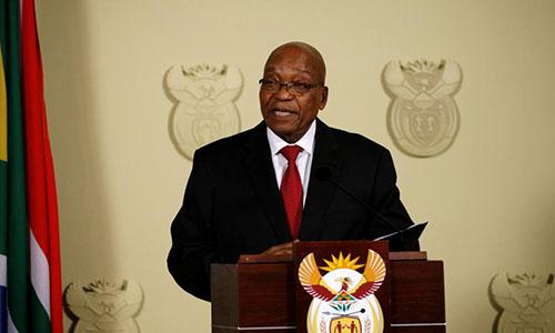 Ông Jacob Zuma chấp thuận từ chức tổng thống Nam Phi. Ảnh: Reuters.