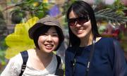 Du khách chúc năm mới người Việt bằng nhiều ngôn ngữ
