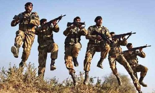 Binh sĩ Pakistan ở khu vực LoC. Ảnh: National Turk.